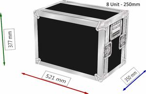 Bilde av Effekt Rack 8 - 11 Unit 250mm