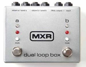 Bilde av MXR M198 Dual Loop Box
