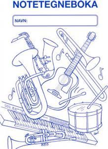 Bilde av Noter - Notetegneboka