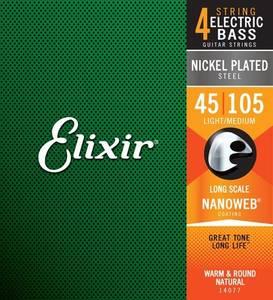 Bilde av Elixir Nanoweb Nickel Bass