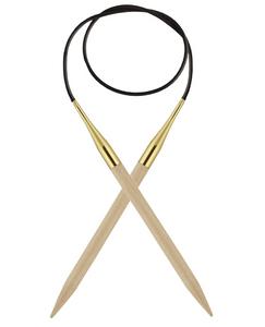 Bilde av Basix Birch 80 cm tykke pinner Knit Pro