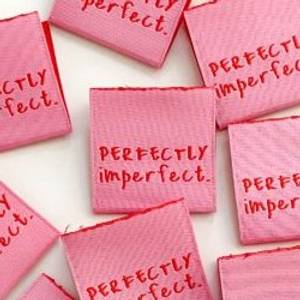 """Bilde av """"Perfectly imperfect"""" rosa - 8 stk symerker"""
