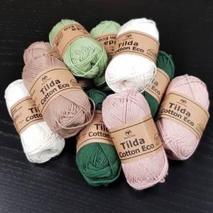 Bilde av Tilda Cotton Eco bomull garn -  25 g