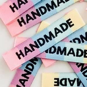 """Bilde av """"Handmade"""" rainbow - 8 stk symerker"""