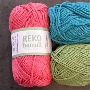 Bilde av Reko resirkulert bomull - 22 farger - 50 g