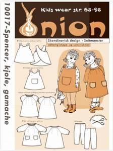 Bilde av 10017 - Spencer-kjole, kjole og tights til barn