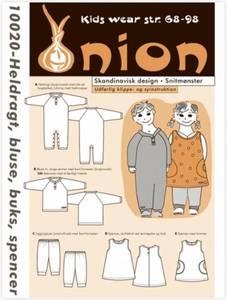 Bilde av 10020 - Heldrakt, bluse, bukse og spencerkjole