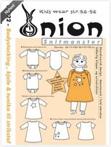Bilde av 10022 - Body, kjole og tunika i jersey til barn