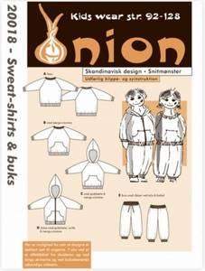 Bilde av 20018 - Sweat-shirt, hoodie og bukse til barn