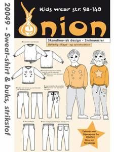 Bilde av 20049 - Sweat shirt og bukse til jersey str 98 -