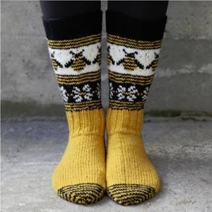 Bilde av Humlesurr sokkepakke - str 34 -44
