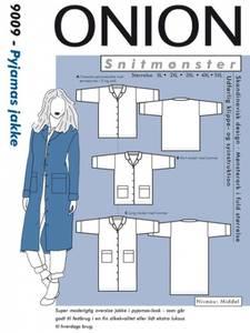 Bilde av 9009 - Pysjamasjakke, rett enkel jakke eller