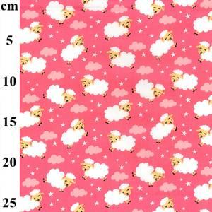 Bilde av Poplin Glade sau rosa bomullspoplin