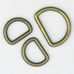 Bilde av D-ring oksydert 10 og 15 mm