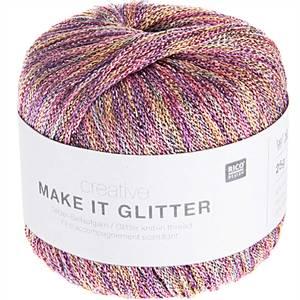 Bilde av Make it glitter Pastell - effektgarn 25 g Rico