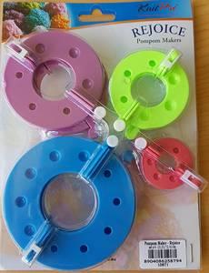Bilde av Pompon maker - 4 maler til dusker KnitPro