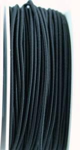 Bilde av Rundstrikk 3 mm sort strikksnor