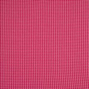 Bilde av Jacquardjersey triangel rosa og cerise