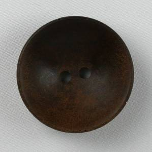 Bilde av Kokosknapp brun 34 mm