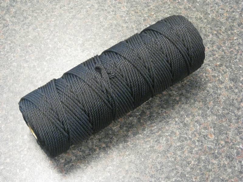 Nylon tråd 250gr farget