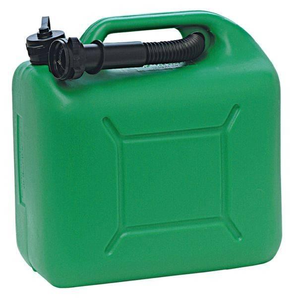 Bensinkanne 10L grønn