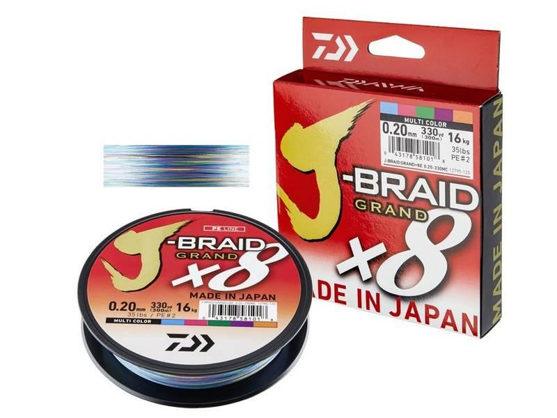 Daiwa J-braid Grandx8 300m MC