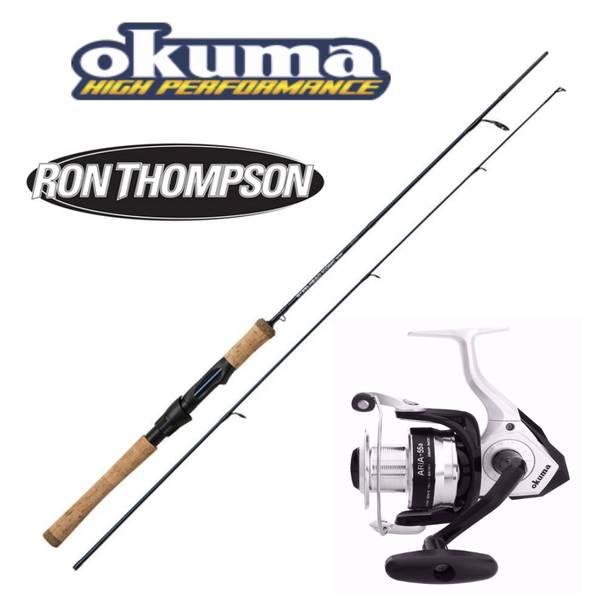 Ron Thompson Steelhead Iconic 9' 270cm 20-60g/ Okuma Aria 55a