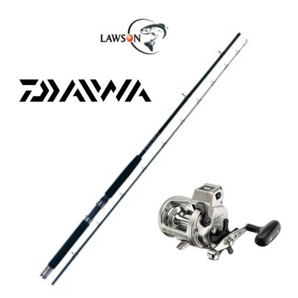Lawson Salmonrigger 8'/Daiwa Accudepth Plus 47 LCB