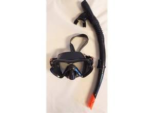 Bilde av Dykkermaske/snorkel silikon voksen