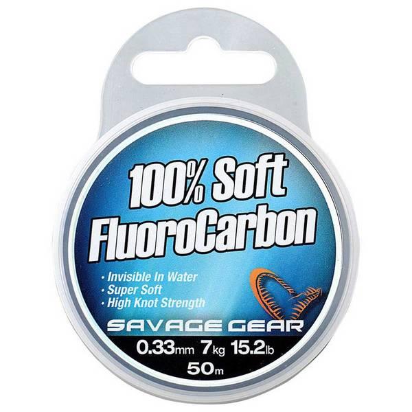 Savage Gear 100% Soft Fluorocarbon 0,22mm
