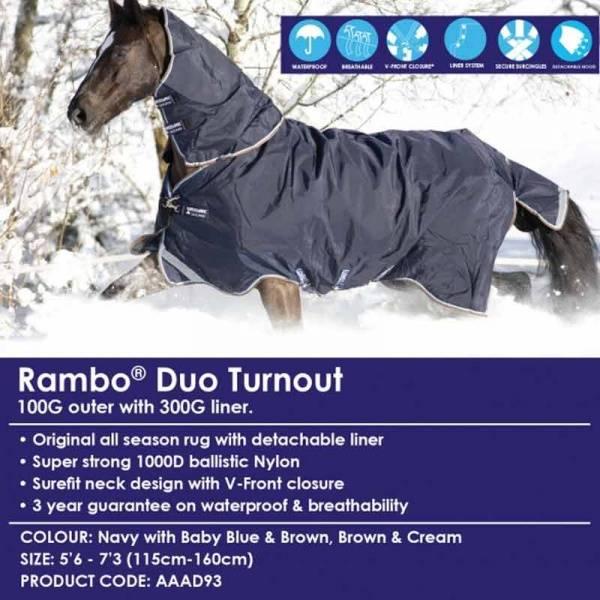 Rambo Duo Turnout