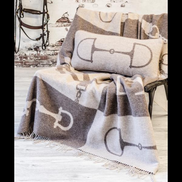 Wool Cashmere Pillow Beige
