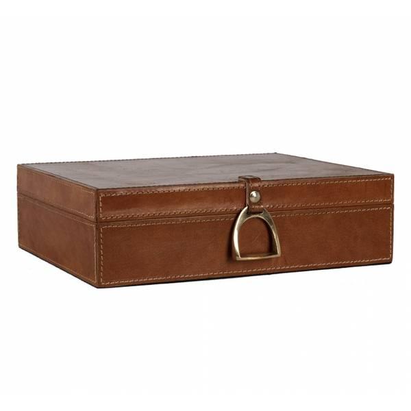 Adamsbro leather Box