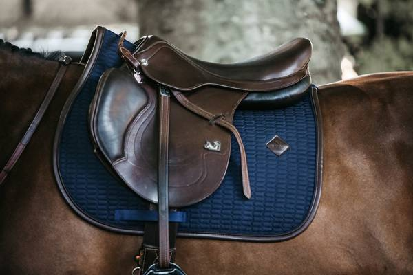 Kentucky Saddle Pad Leather Color Edition DR