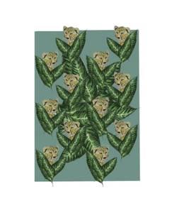 Bilde av Monteverde Design kort, Leopard