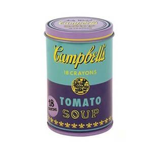Bilde av Andy Warhol Campbell 18 Crayons, Tomato Soup-