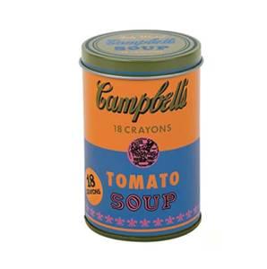 Bilde av Andy Warhol Campbell 18 Crayons, Tomato Soup -