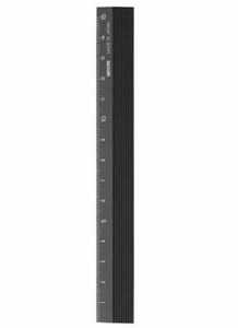 Bilde av Midori linjal 15 cm, sort