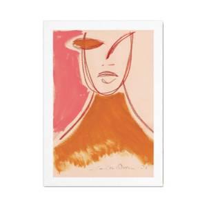 Bilde av Paper Collective Kort A5, Pink Portrait