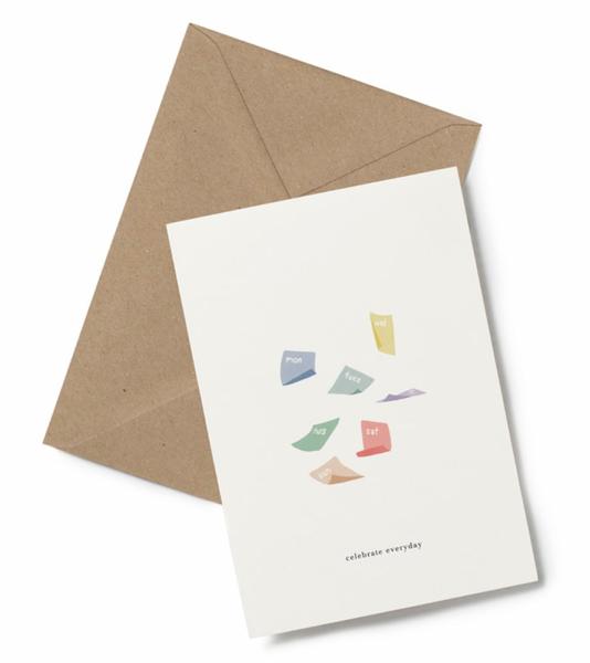 Kartotek kort, Celebrate Everyday
