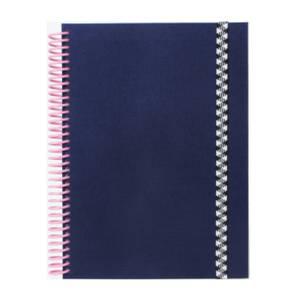 Bilde av PAPIER TIGRE The Plain Canvas Blue Notatbok A5,