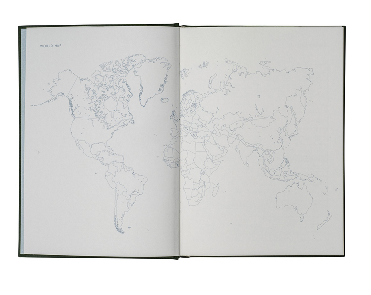 Kartotek Reise Journal, A5