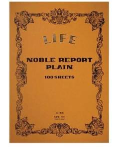 Bilde av Life Stationery Noble Report Blokk Plain, A4