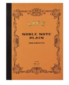 Bilde av Life Stationery Noble Notebook, Plain B5