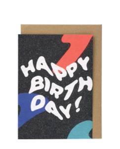 Bilde av Papier Tigre Kort, Happy Birthday