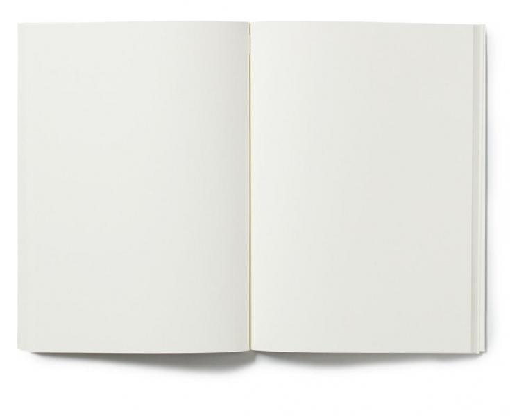 Notatbok Lines Red, Plain A5
