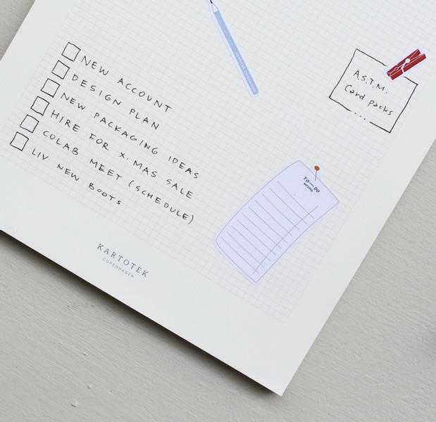 Kartotek Notepads Grid, A5
