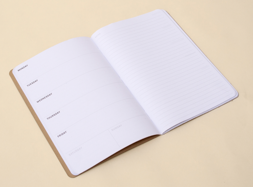 Octagon Open Weekly Notebook Planner, A5