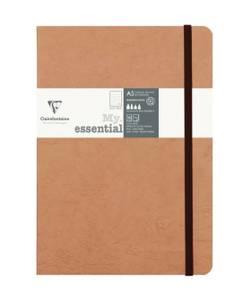 Bilde av My Essentials Notatbok A5 Brun, Dots