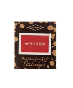 Bilde av Diamine Blekkpatroner 6 pkn, Monaco Red